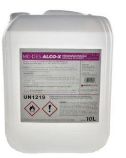 MC - DES ALCO-X 10 Liter