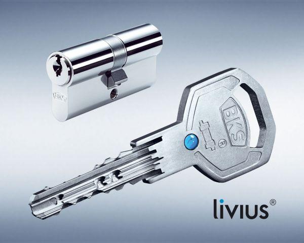 BKS Livius Doppel-Schließzylinder